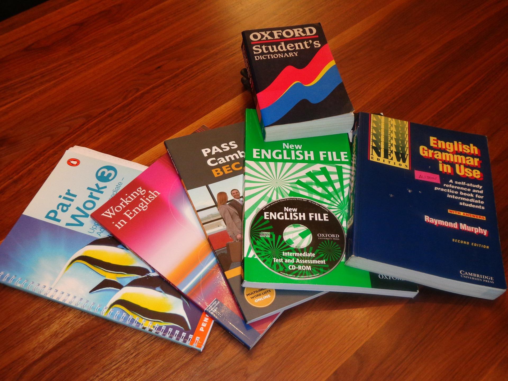 Книги английский